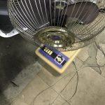 倉敷市三田付近で回収した扇風機です。