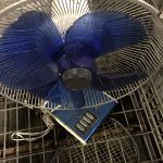 倉敷市水島付近で回収した扇風機です。