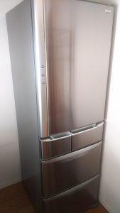 倉敷市老松付近で回収させて頂いた大型冷蔵庫