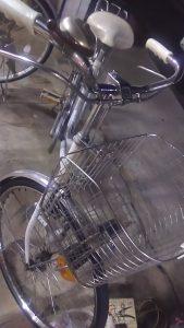 倉敷市笹沖付近で回収させて頂いた自転車