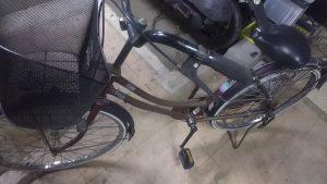 倉敷市亀山付近で回収させて頂いた自転車