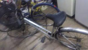 倉敷市船穂町付近で回収させて頂いた自転車