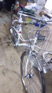 倉敷市児島付近で回収させて頂いた自転車
