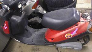 倉敷市連島町付近で回収させて頂いたバイク