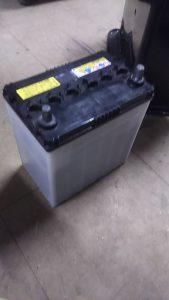 倉敷市茶屋町付近で回収させて頂いたバッテリー